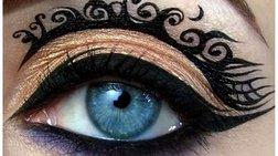 15 υπέροχα τρελά μακιγιάζ, σαν έργα τέχνης