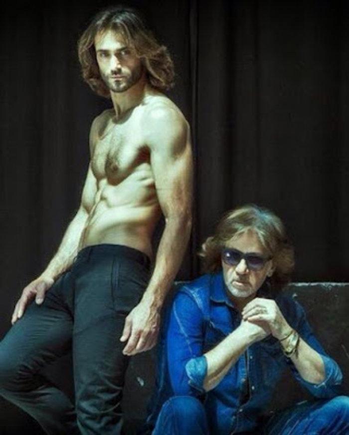 Ο Τεό Θεοδωρίδης και ο Παντελής Μήτσου, πρόσφατα φωτογραφημένοι από τη σύντροφο του μοντέλου Αγνή Μαρά.
