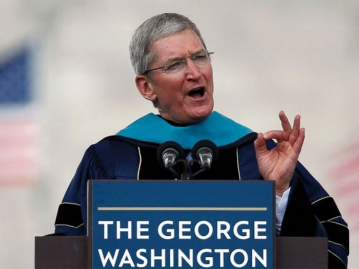 Τιμ Κουκ - CEO of Apple, στο George Washington University