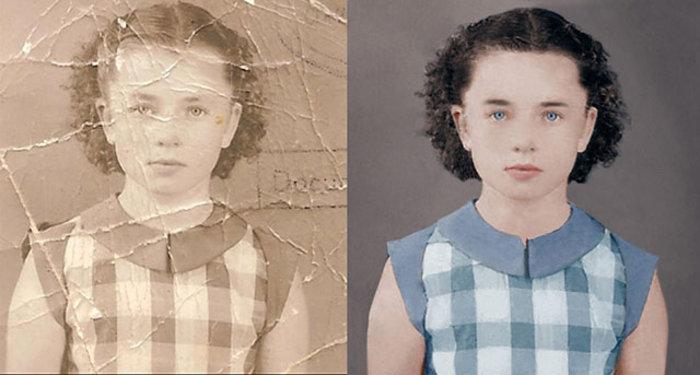 Εντυπωσιακό: Η επιδιόρθωση μιας vintage φωτογραφίας στο photoshop [Βίντεο]