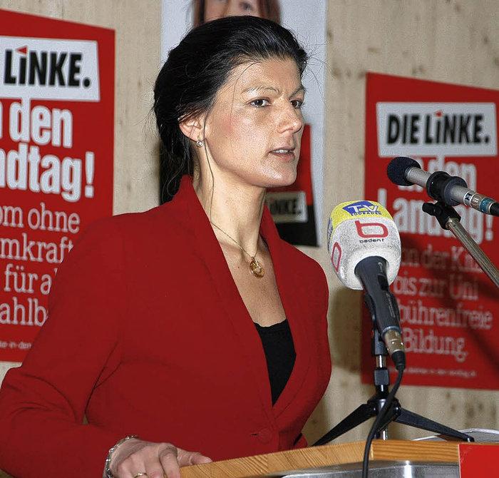 Η Σάρα Βάγκενκνεχτ
