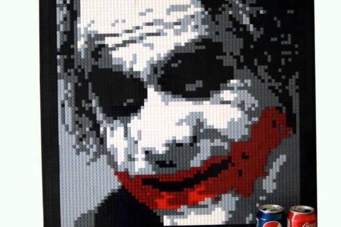 Πρωτότυπο: Πατέρας δημιουργεί έργα τέχνης με Lego! - εικόνα 2
