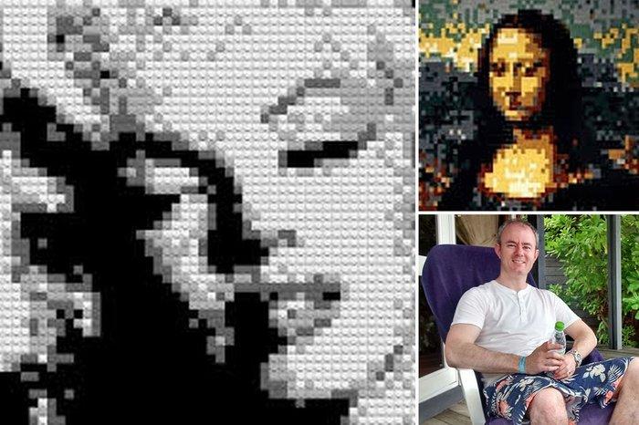 Πρωτότυπο: Πατέρας δημιουργεί έργα τέχνης με Lego! - εικόνα 3