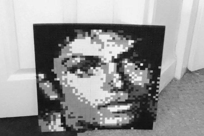 Πρωτότυπο: Πατέρας δημιουργεί έργα τέχνης με Lego! - εικόνα 4