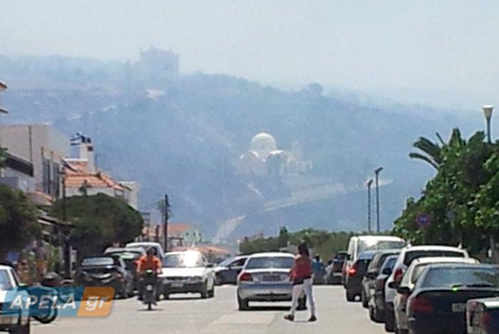 Νεάπολη-Λακωνία: Καίγονται σπίτια, καταστήματα και το Κέντρο Υγείας - εικόνα 29