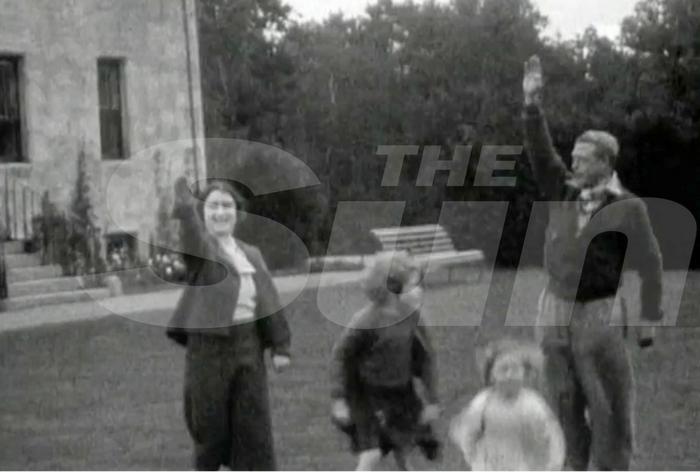 Sun: Η βασίλισσα Ελισάβετ σε ηλικία 7 χρονών χαιρετά ναζιστικά - εικόνα 3