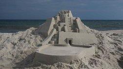 Η γοητεία του να χτίζεις στην άμμο παλάτια. Κυριολεκτικά!
