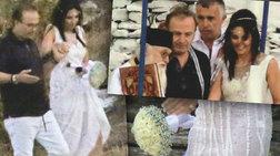 Οι πρώτες φωτογραφίες του μυστικού γάμου του Γονίδη στην Κύθνο