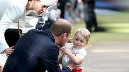 Ο ζωηρός, ανυπάκουος Πρίγκιπας Τζορτζ έγινε 2 χρόνων