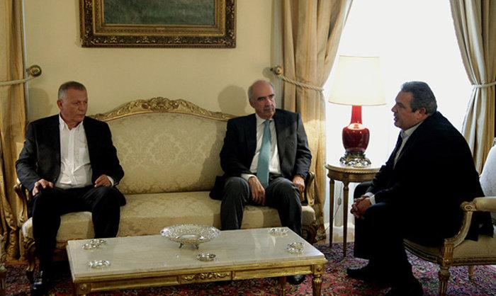Οι...σπαρταριστοί διάλογοι των αρχηγών στο Προεδρικό - εικόνα 3