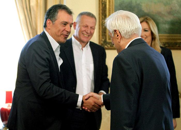 Οι...σπαρταριστοί διάλογοι των αρχηγών στο Προεδρικό - εικόνα 2