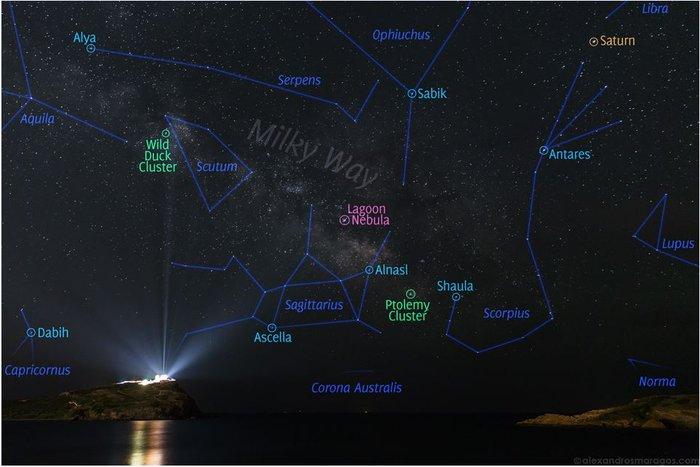 Η φωτό Ελληνα που ξεχώρισε η NASA: Ο Γαλαξίας πάνω από το Ναό του Ποσειδώνα - εικόνα 2