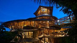 Νεοϋορκέζα σχεδιάστρια δημιουργεί πανέμορφα σπίτια από μπαμπού!