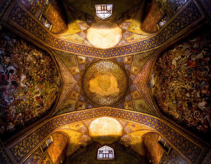 Το ταβάνι του Chehel sotoun, στο Ισφαχάν