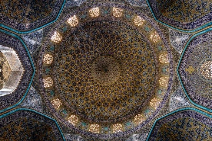 Θόλος του τζαμιού Sheikh Lotfollah, στο Ισφαχάν