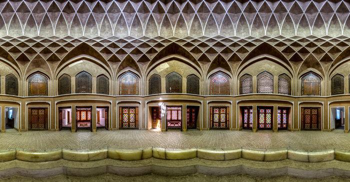 Εσωτερικό του Dolat abad, Γιαζντ