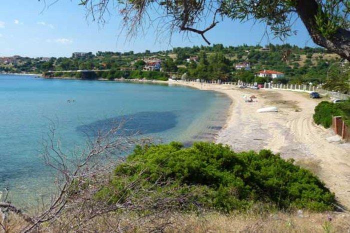 Η παραλία Καστρί στη Σιθωνία, Χαλκιδική