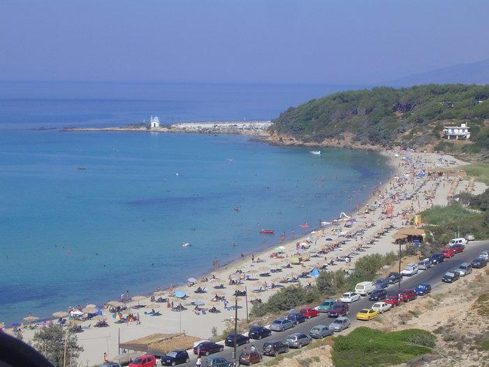 Η παραλία Μεσακτή στην Ικαρία