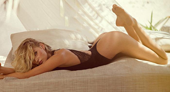 Η Έλσα Χοσκ είναι ο  Άγγελος της Victoria's Secret που... έβαζε τρίποντα! - εικόνα 2