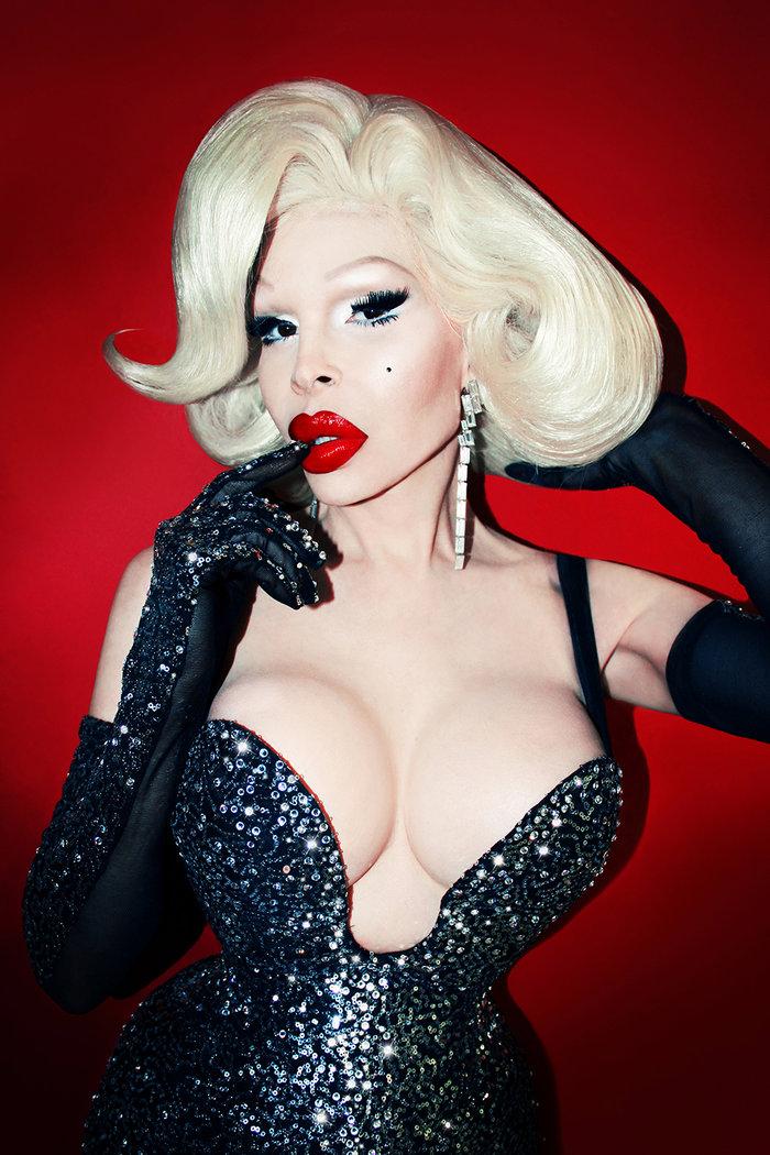Ναι, η Βίσση τραγουδάει με τη διασημότερη τρανσέξουαλ Αμάντα Λεπόρ - εικόνα 2
