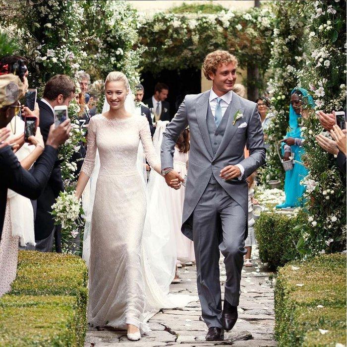 Ο εγγονός της Γκρέις Κέλι ξαναπαντρεύτηκε την πάμπλουτη Ιταλίδα του!
