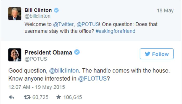 Ο Κλίντον συνεχίζει να «τρολάρει» ασταμάτητα τον Ομπάμα στο twitter - εικόνα 2