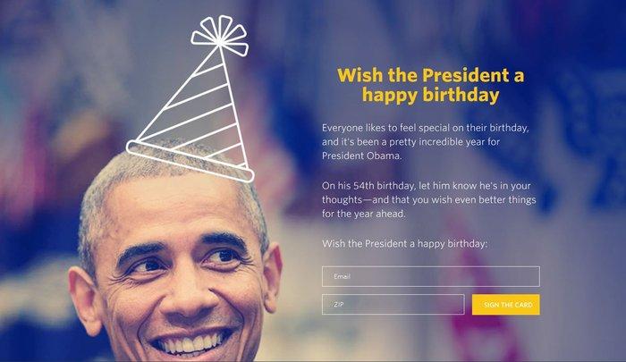 «Τα 54 φαίνονται καλά πάνω σου!» Πώς γιόρτασε ο Ομπάμα τα γενέθλιά του... - εικόνα 2