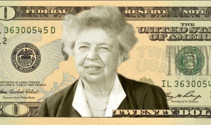Την Έλινορ Ρούζβελτ θέλουν στο χαρτονόμισμα των 10 δολαρίων οι Aμερικανοί