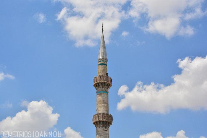 Μιναρές στο Ικόνιο της Τουρκία, την πιο βαθιά θρησκευόμενη πόλη της χώρας