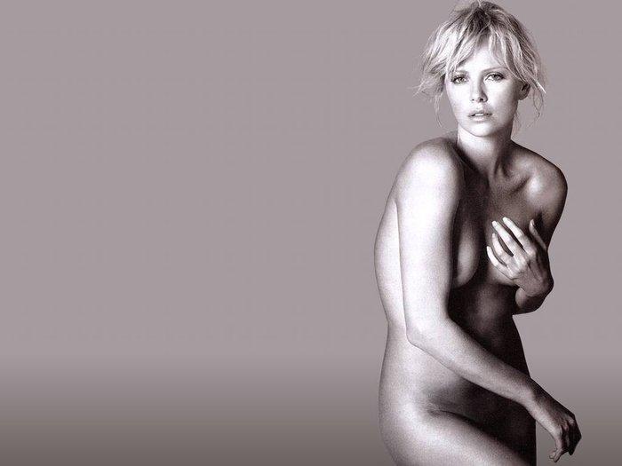 Η Σαρλίζ Θερόν έχει γενέθλια- Θηλυκό 40 καρατίων - εικόνα 6
