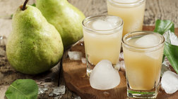 Τα ζουμερά αχλάδια σβήνουν το hangover από το μεθύσι!