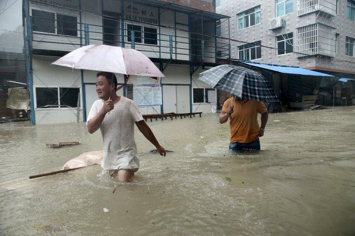 Ο φονικός τυφώνας Σουντελόρ χτύπησε και την Κίνα - εικόνα 4