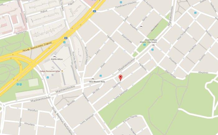 Πυροβόλησαν αστυνομικούς μέσα σε περιπολικό κοντά στο Χίλτον