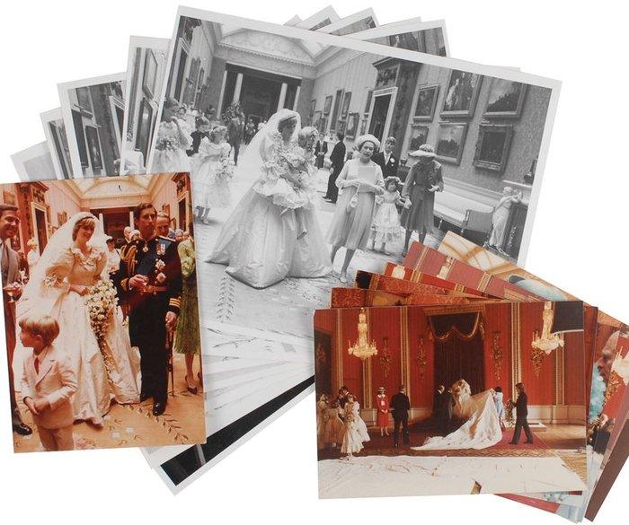 Νταϊάνα - Κάρολος: Οι άγνωστες φωτογραφίες του γάμου