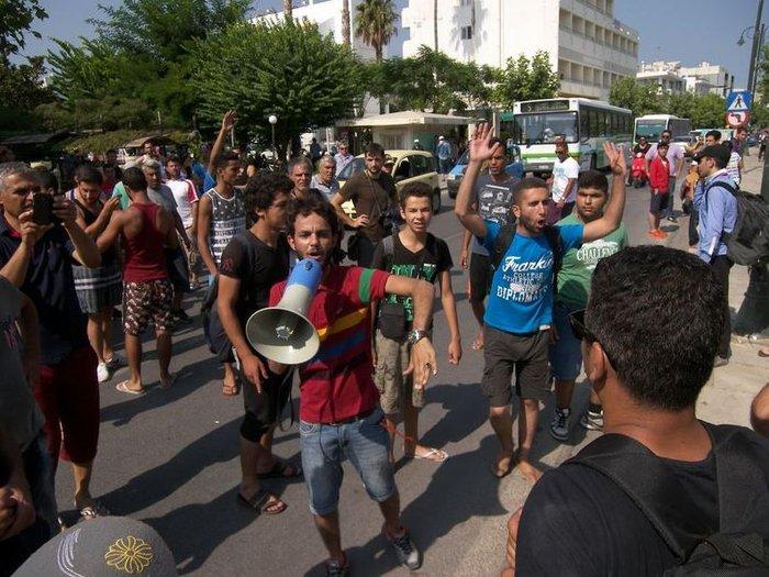 Εξέγερση προσφύγων, πεδίο μάχης η Κως