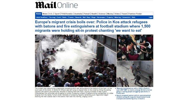 Εξέγερση προσφύγων, πεδίο μάχης η Κως - εικόνα 2