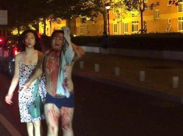 Βιβλικές καταστροφές στην Κίνα από τρομακτική έκρηξη - εικόνα 4