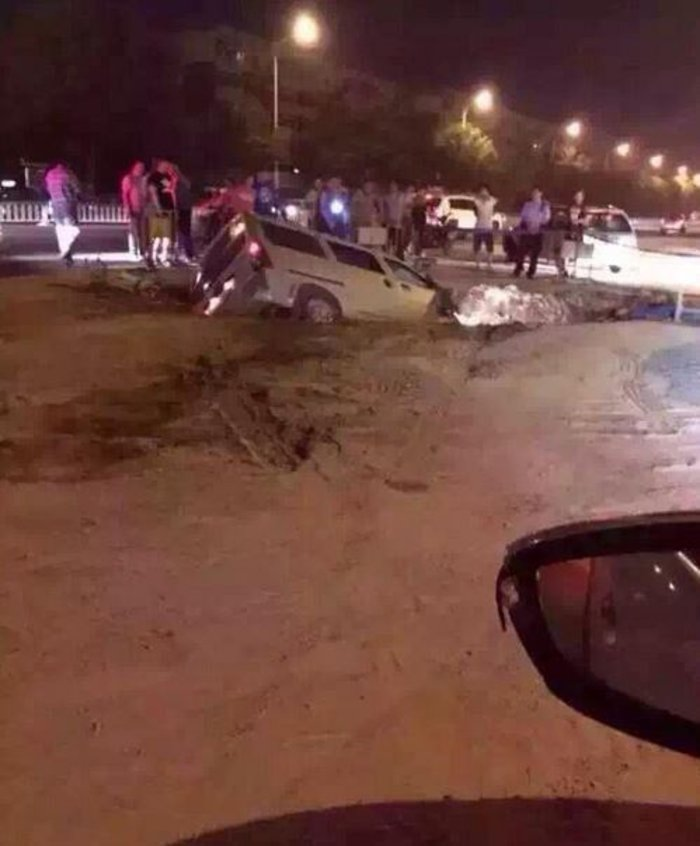 Βιβλικές καταστροφές στην Κίνα από τρομακτική έκρηξη - εικόνα 6