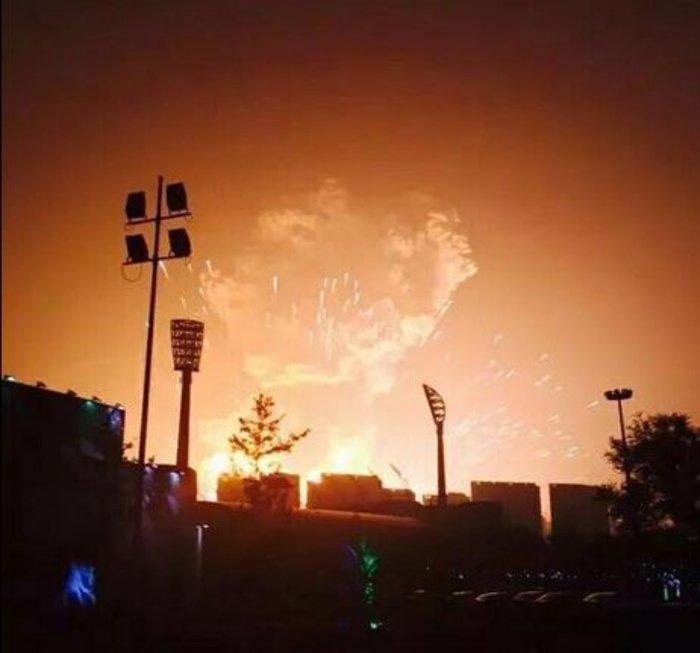 Βιβλικές καταστροφές στην Κίνα από τρομακτική έκρηξη - εικόνα 7