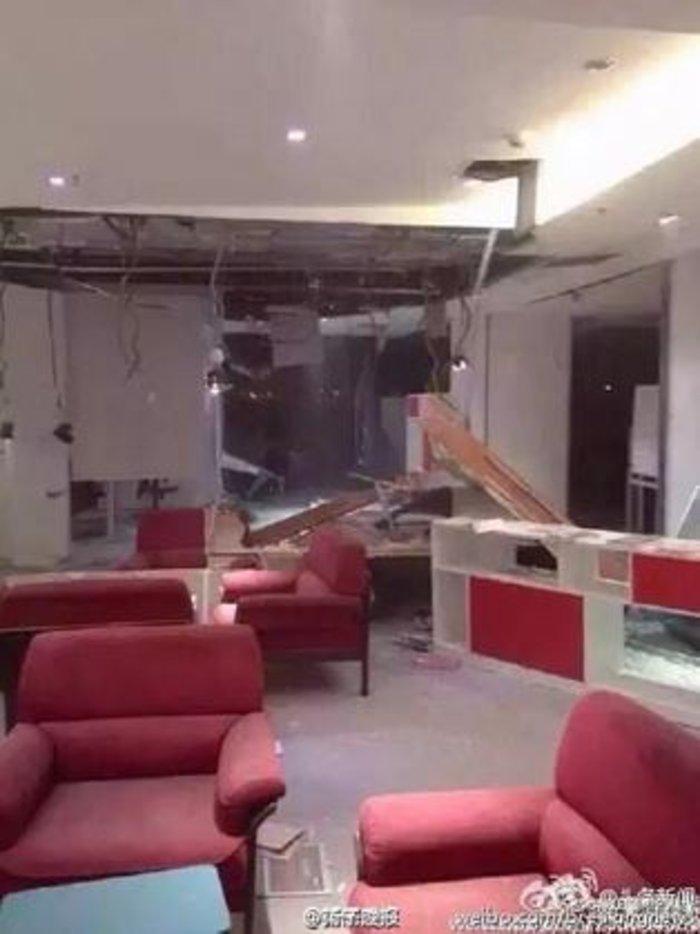 Βιβλικές καταστροφές στην Κίνα από τρομακτική έκρηξη - εικόνα 9