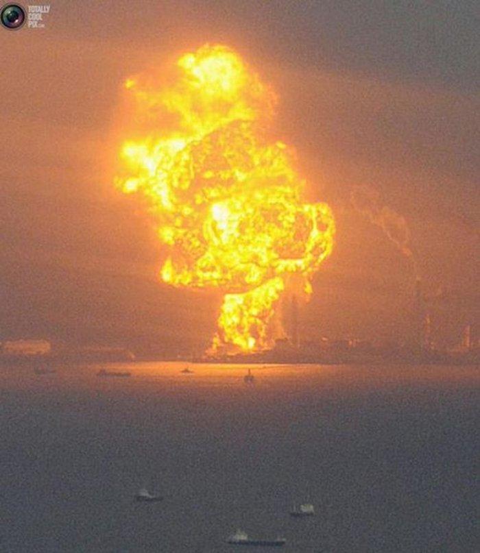 Βιβλικές καταστροφές στην Κίνα από τρομακτική έκρηξη