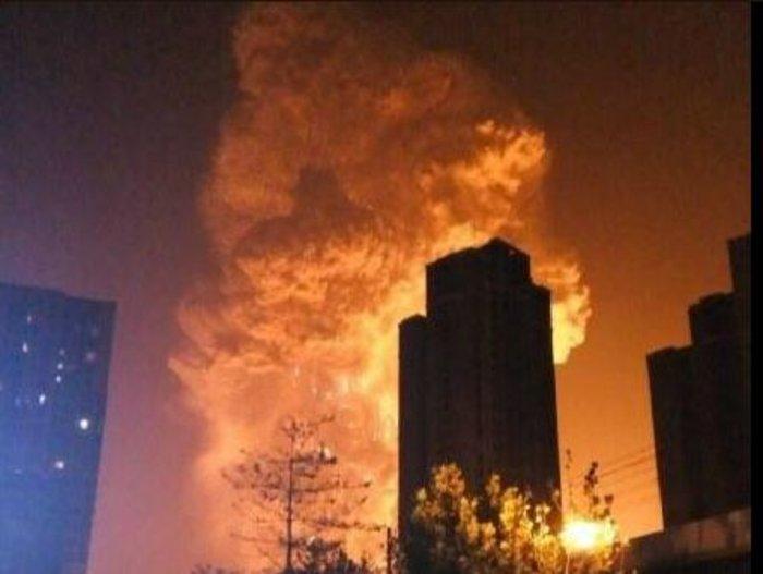 Βιβλικές καταστροφές στην Κίνα από τρομακτική έκρηξη - εικόνα 2