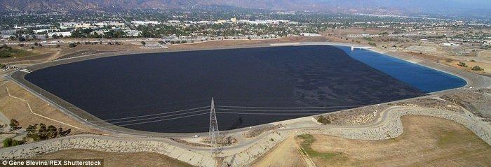 «Θάλασσα» με 96 εκατ. σφαίρες σώζει το Λος Άντζελες