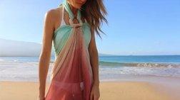 Beach look: 18 έξυπνοι τρόποι να δέσετε το παρεό σας στην παραλία - ΒΙΝΤΕΟ