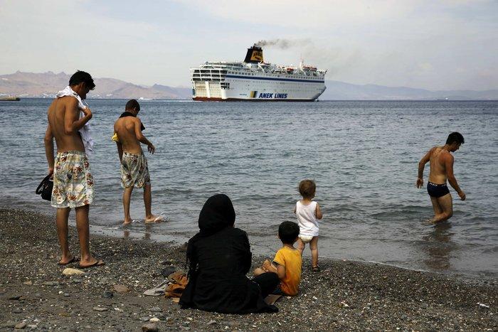 Το πλοίο-ξενοδοχείο για τους πρόσφυγες έφτασε στην Κω - εικόνα 6