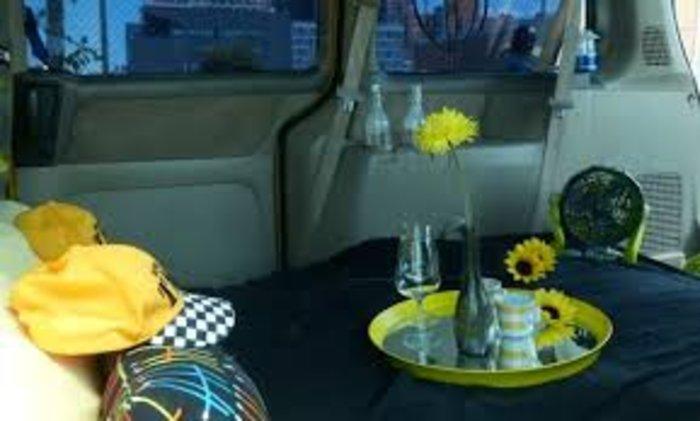 «Δωμάτιο» με θέα σε ταξί στη  Νέα Υόρκη
