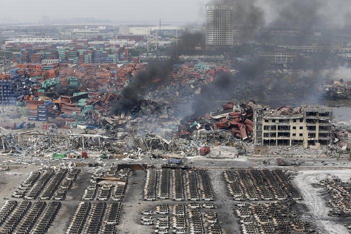 Πάνω από 100 οι νεκροί από τη φονική έκρηξη στην Κίνα