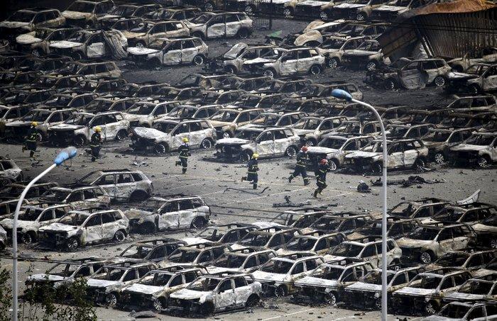 Πάνω από 100 οι νεκροί από τη φονική έκρηξη στην Κίνα - εικόνα 2