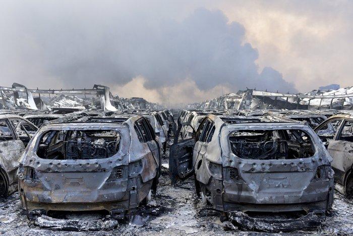 112 οι νεκροί από τις εκρήξεις στο κινεζικό λιμάνι