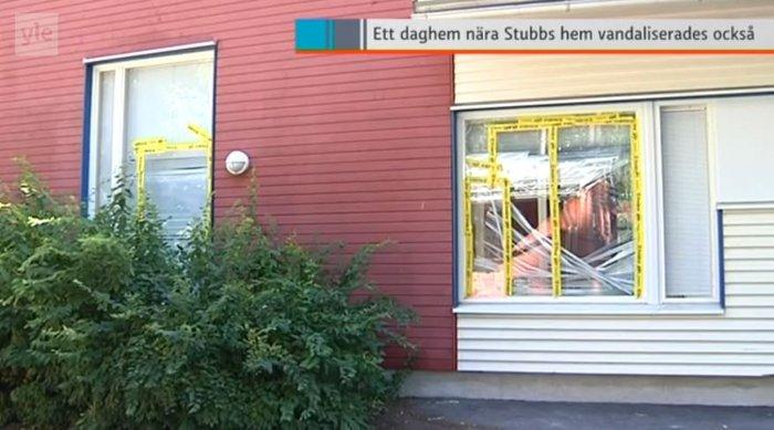 Επίθεση βανδάλων στο σπίτι του φινλάνδου Υπουργού Οικονομικών Στουμπ